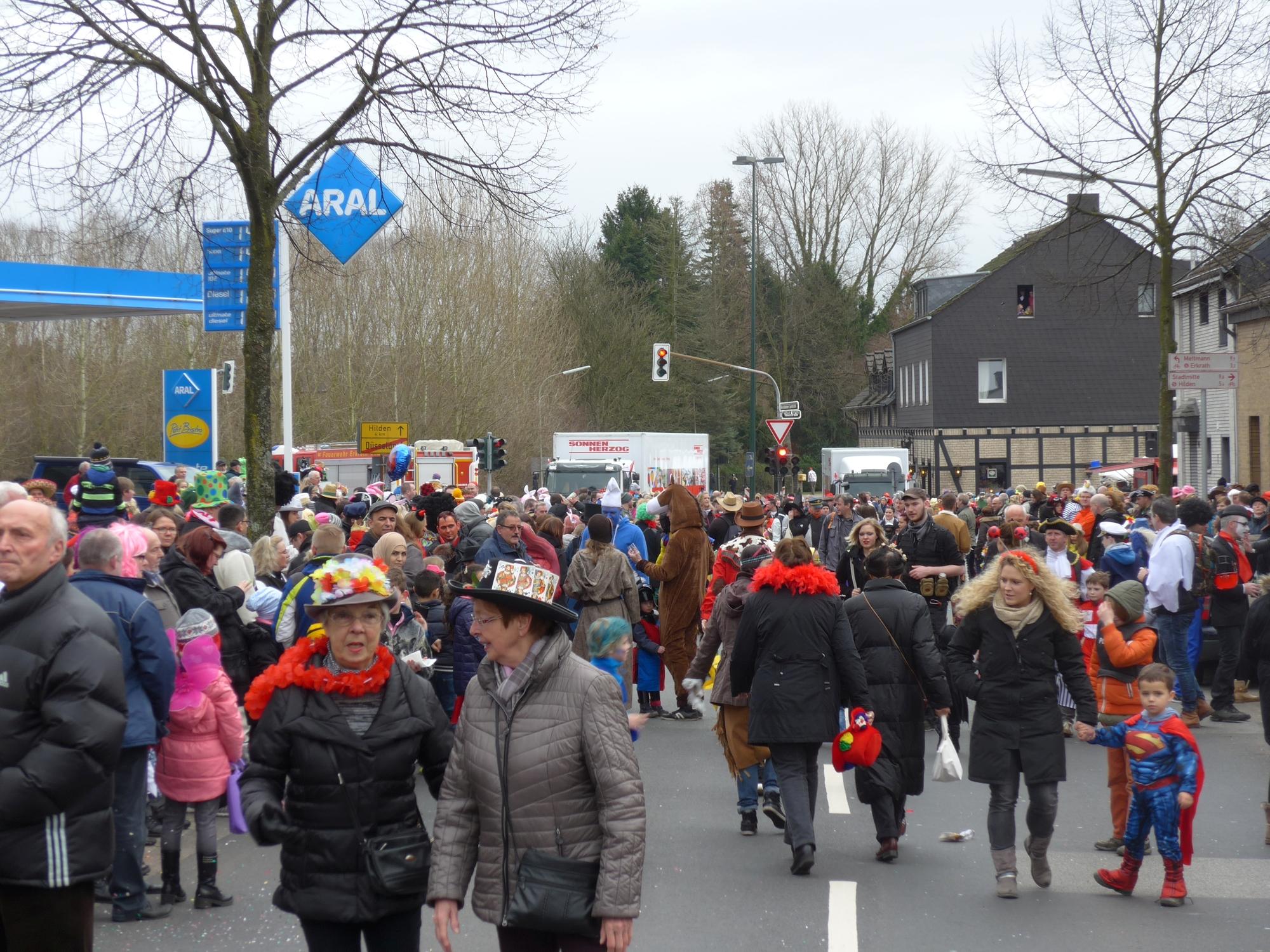 Umzug Unterbach 2017