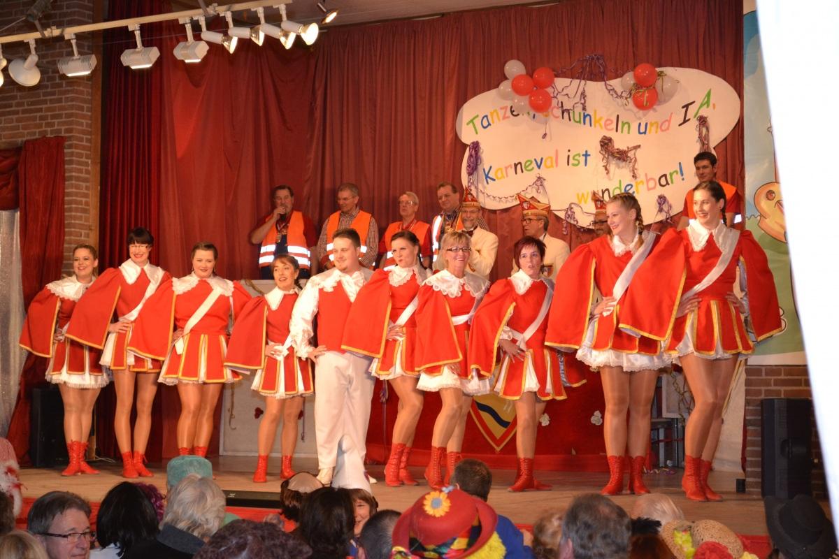 Tanzgarde Rot-Weiß: 2015Ehemalige: RW - Show