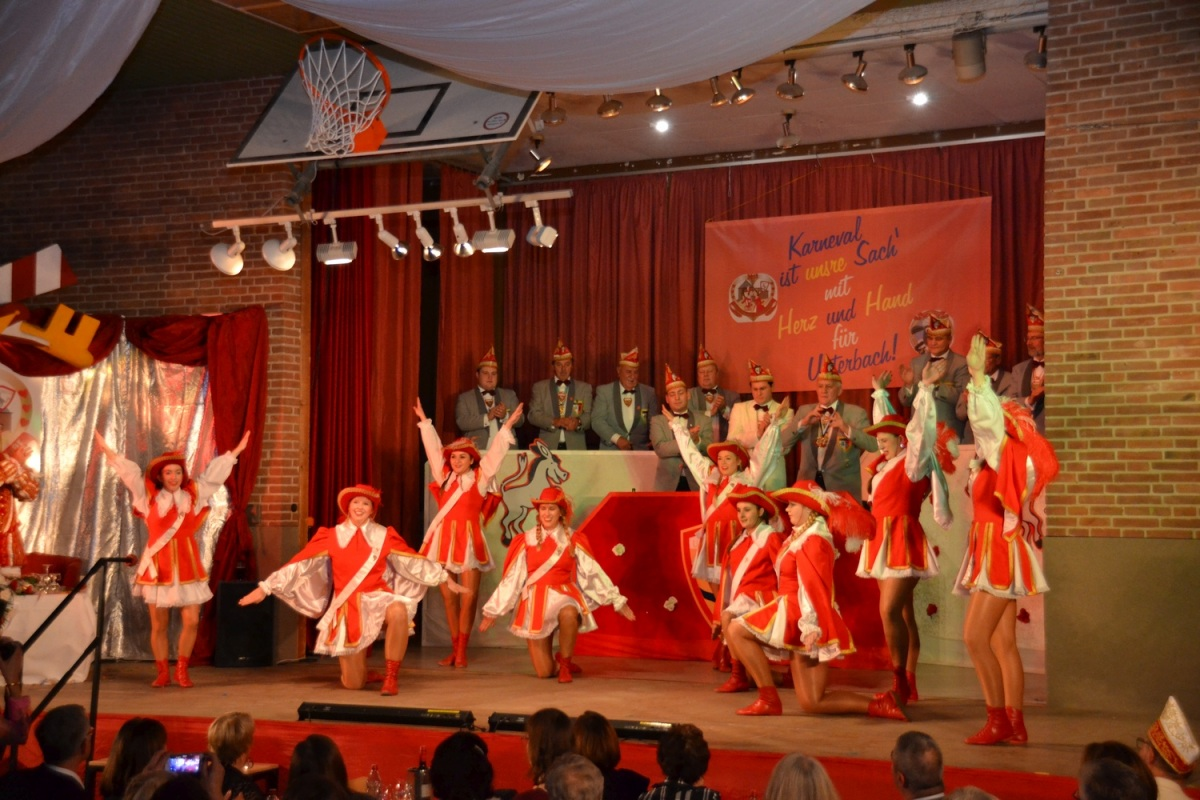 Tanzgarde Rot-Weiß: 2018